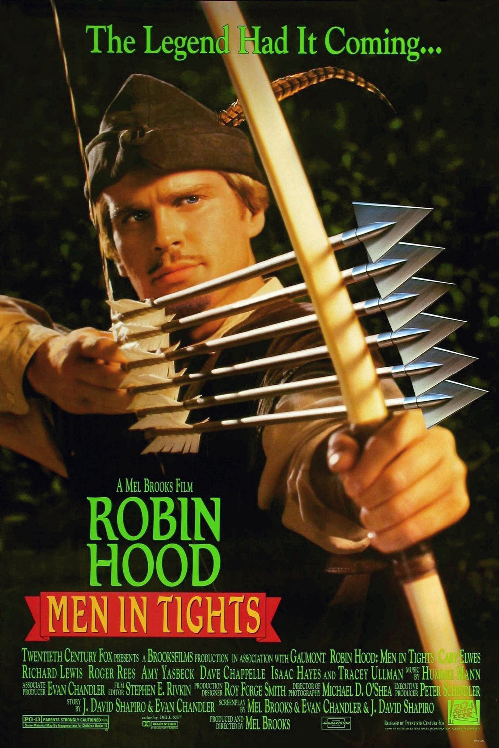 "1991 ""Robin Hood: Prince of Bryant Park Blog August 2012 1000x1500 Movie-index.com"