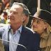 Sarah Michelle Gellar y Robin Williams durante el rodaje de The Crazy Ones