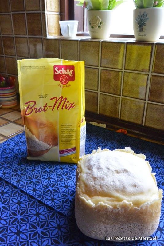 Pan blanco sin lactosa casero