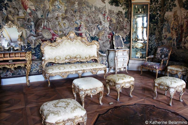 Christian VI's Room, Rosenborg Castle, Copenhagen, Denmark