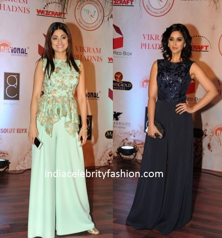 Shamita Shetty and Ileana in Palazzo Pants