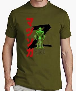 camiseta mazinger z boss helgas v5