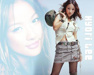 Hyori Lee Beautiful Wallpaper
