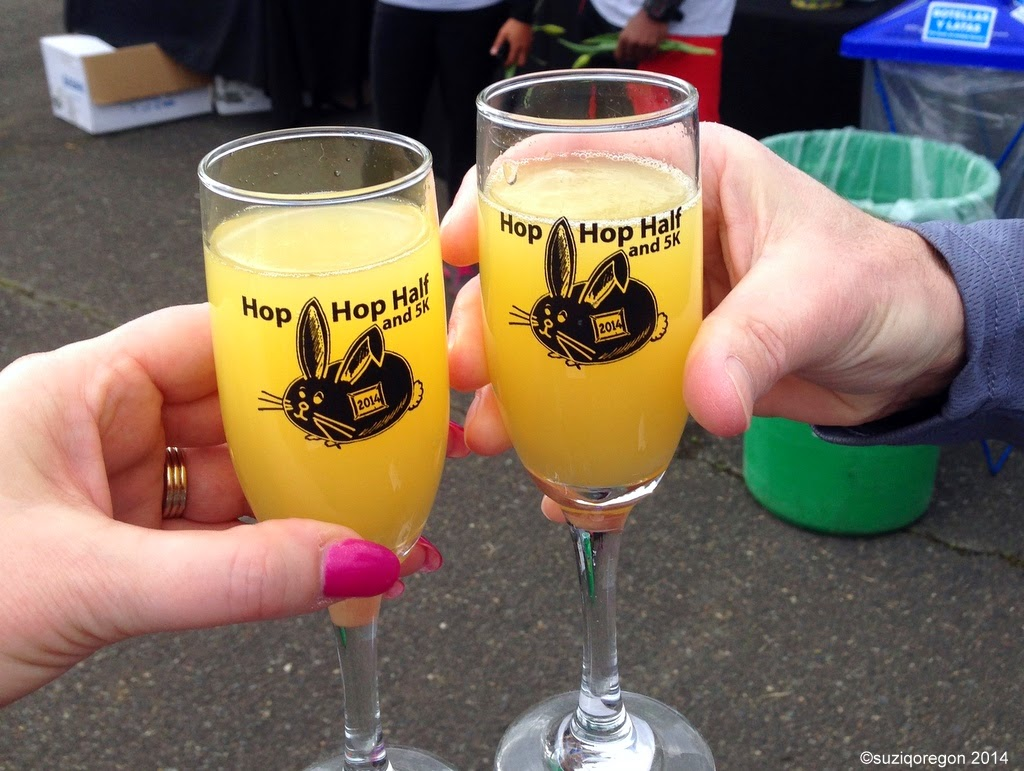 Hop Hop 5K Commemorative Glasses
