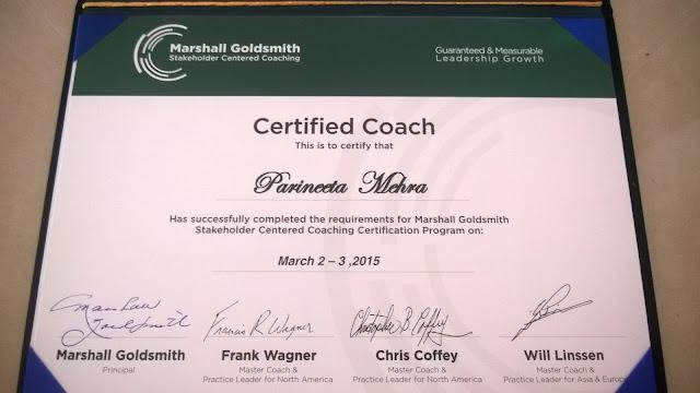 Executive Coaching Certification | Parineeta Mehra
