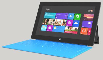 مايكروسوفت تعمل على جهاز لوحي surface بحجم صغير