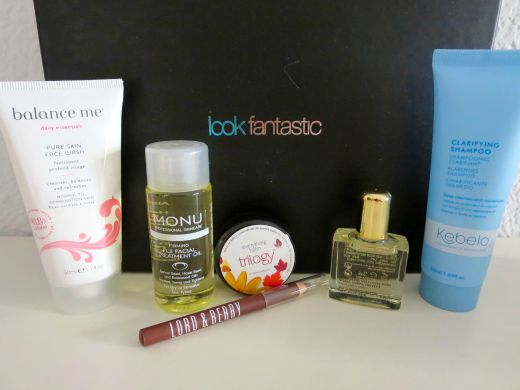 Look Fantastic August Beauty Box
