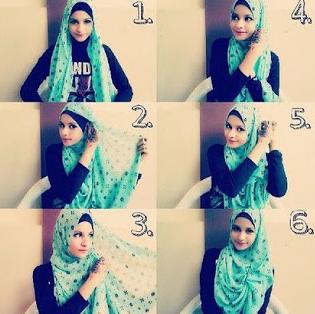 Tutorial Hijab Pashmina Terbaru Casual