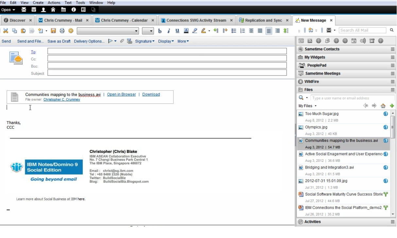 IBM Notes Domino 9 Social Edition (Beta) | Build Social Business
