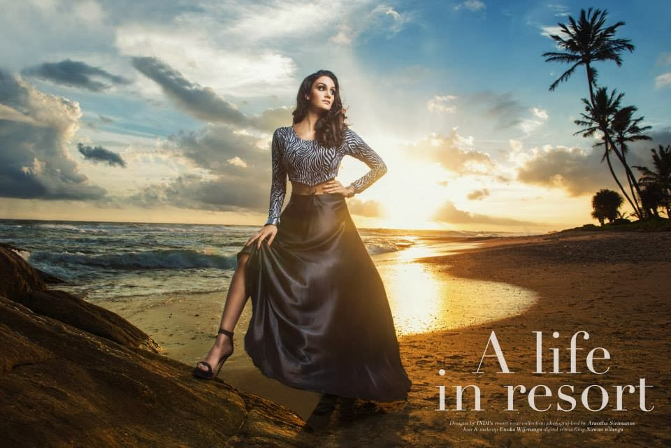 A LIFE IN RESORT - INDI'S BOLD & THE BEAUTIFUL COLLECTION