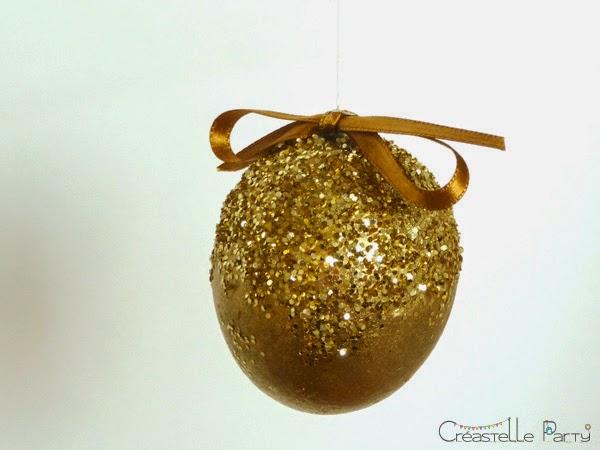 DIY Oeufs de Pâques à paillettes / glitter easter eggs