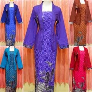 Baju setelan batik muslimah masa kini