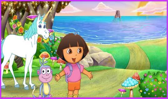 Juegos De Dora Dora Y El Unicornio Lorena Games