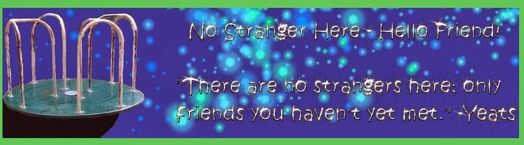 No Stranger Here - Hello Friend!