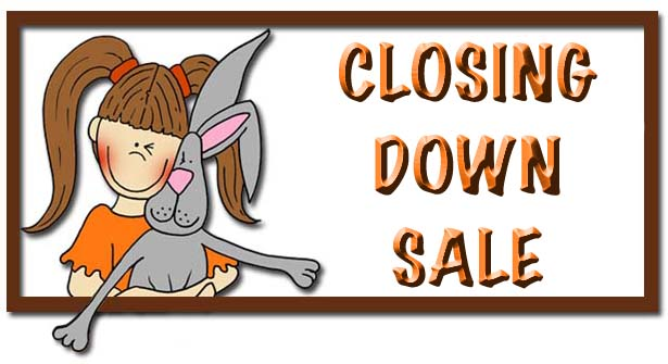 Bunny Zoe's Crafts closing down sale!