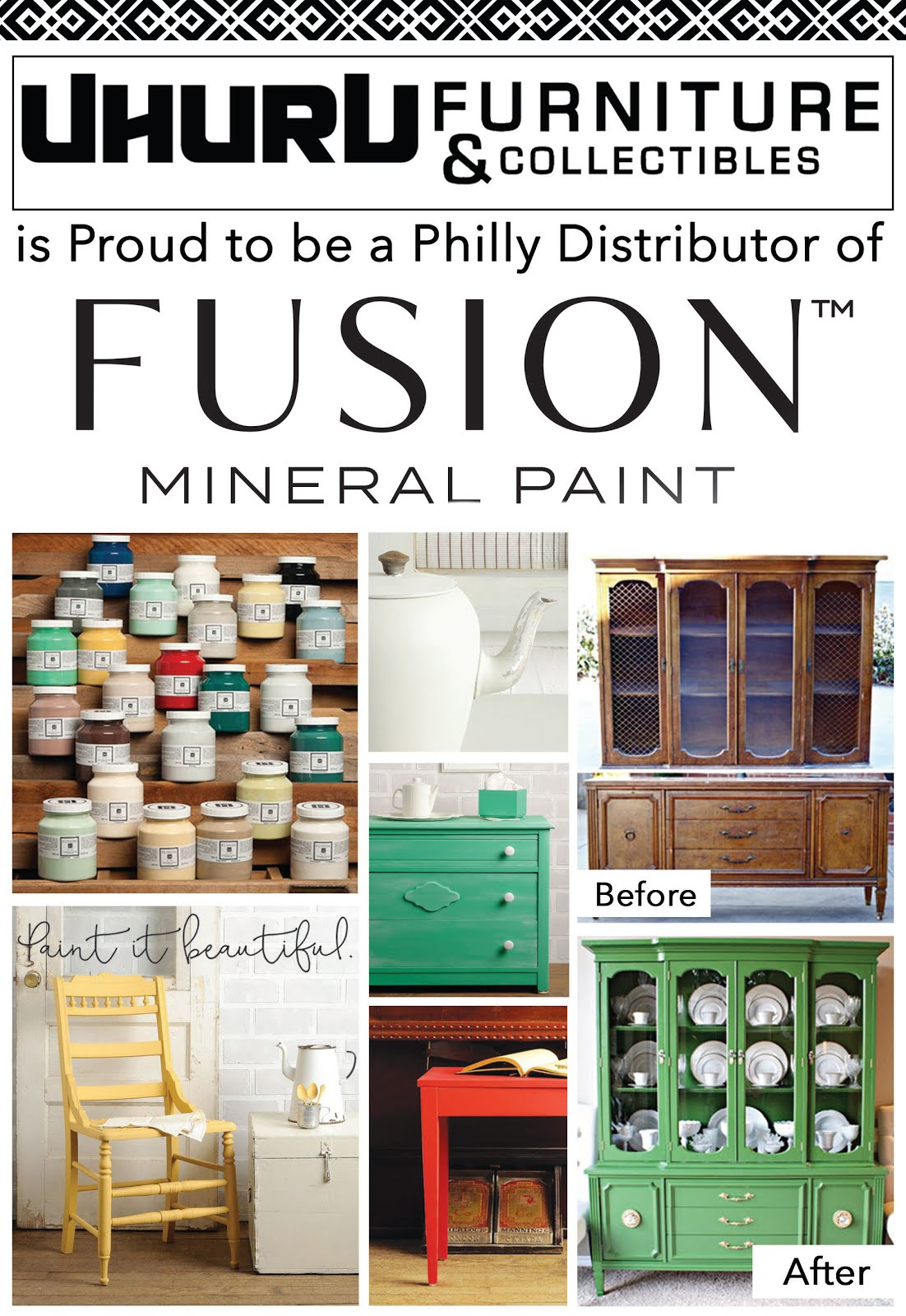 WE'RE SELLING FUSION MINERAL PAINT!