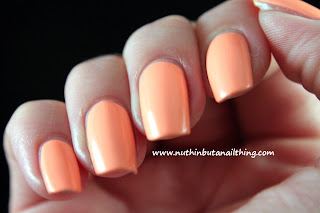 China Glaze Neon On The Shore Collection - Sun of a peach