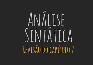 análise sintática revisão