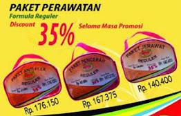 Diskon 35% Paket Reguler