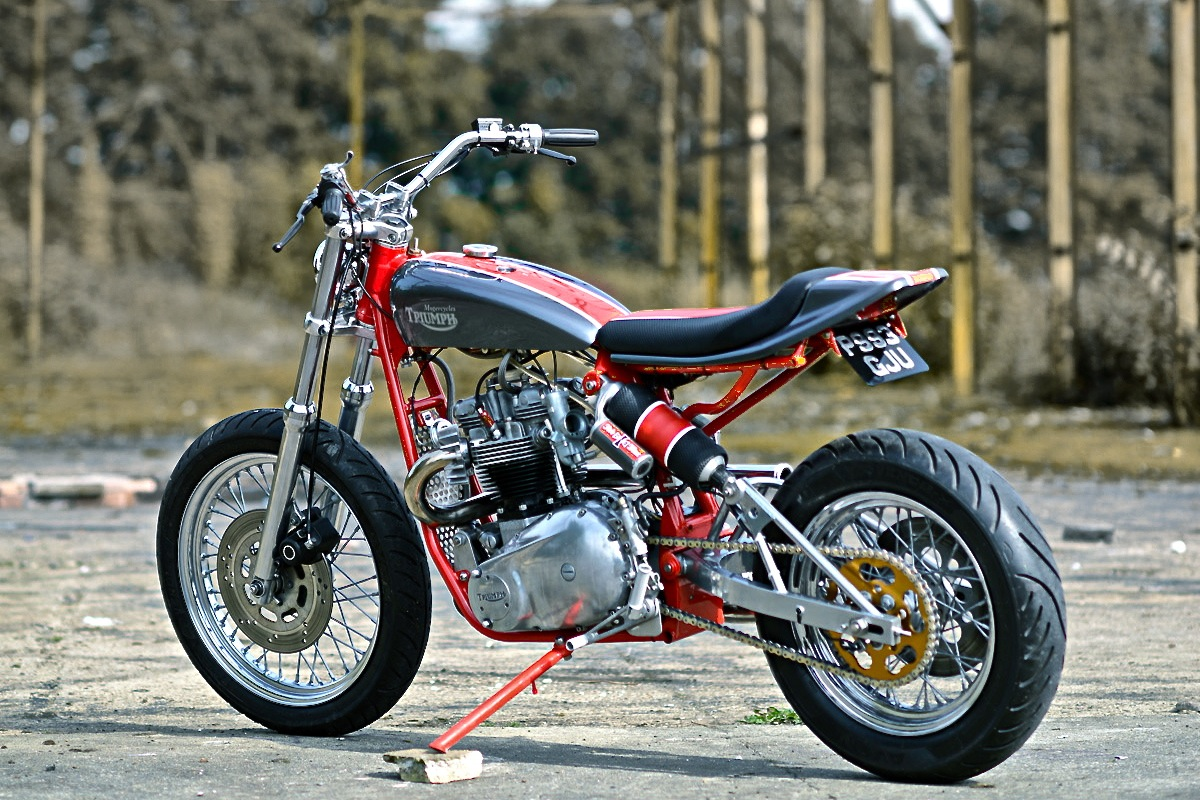 how to build a street tracker motorcycle