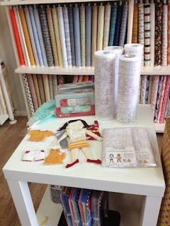 Quiltsmart Flats display by Stitched Studio