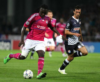 Olympique Lyon 2 - 0 Dinamo Zagreb (1)