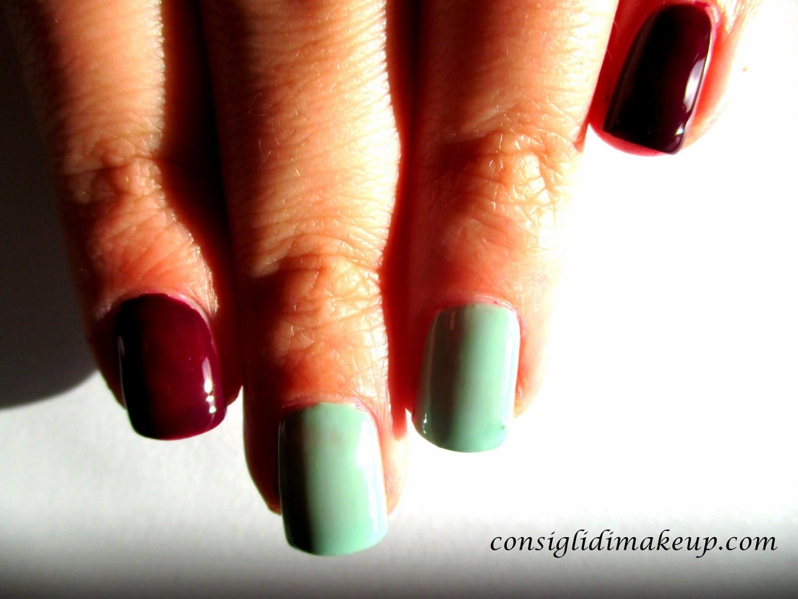 nail art rose