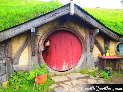 A Red Hobbit Hole