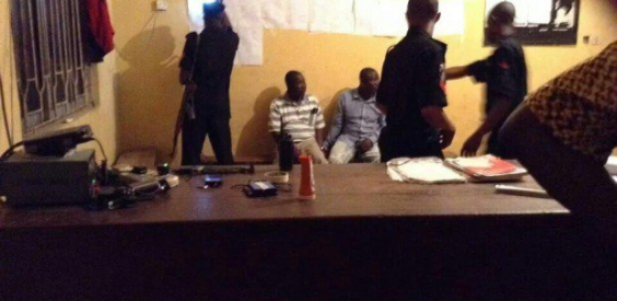 inec staff arrested ballot paper