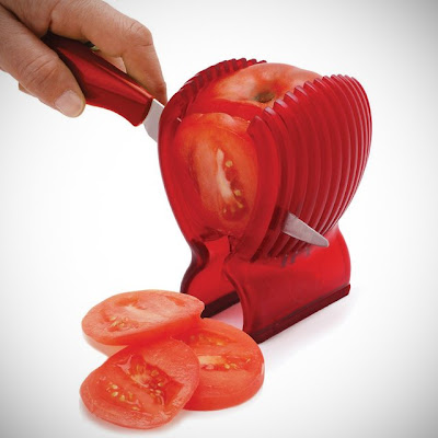 Best Gadgets For Salad Preparation - Tomato Slicer and Knife