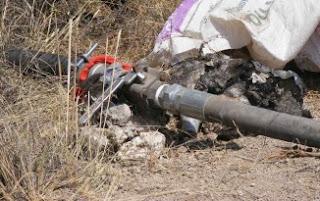 Enfrentamiento entre policías y chupaductos en Omealca