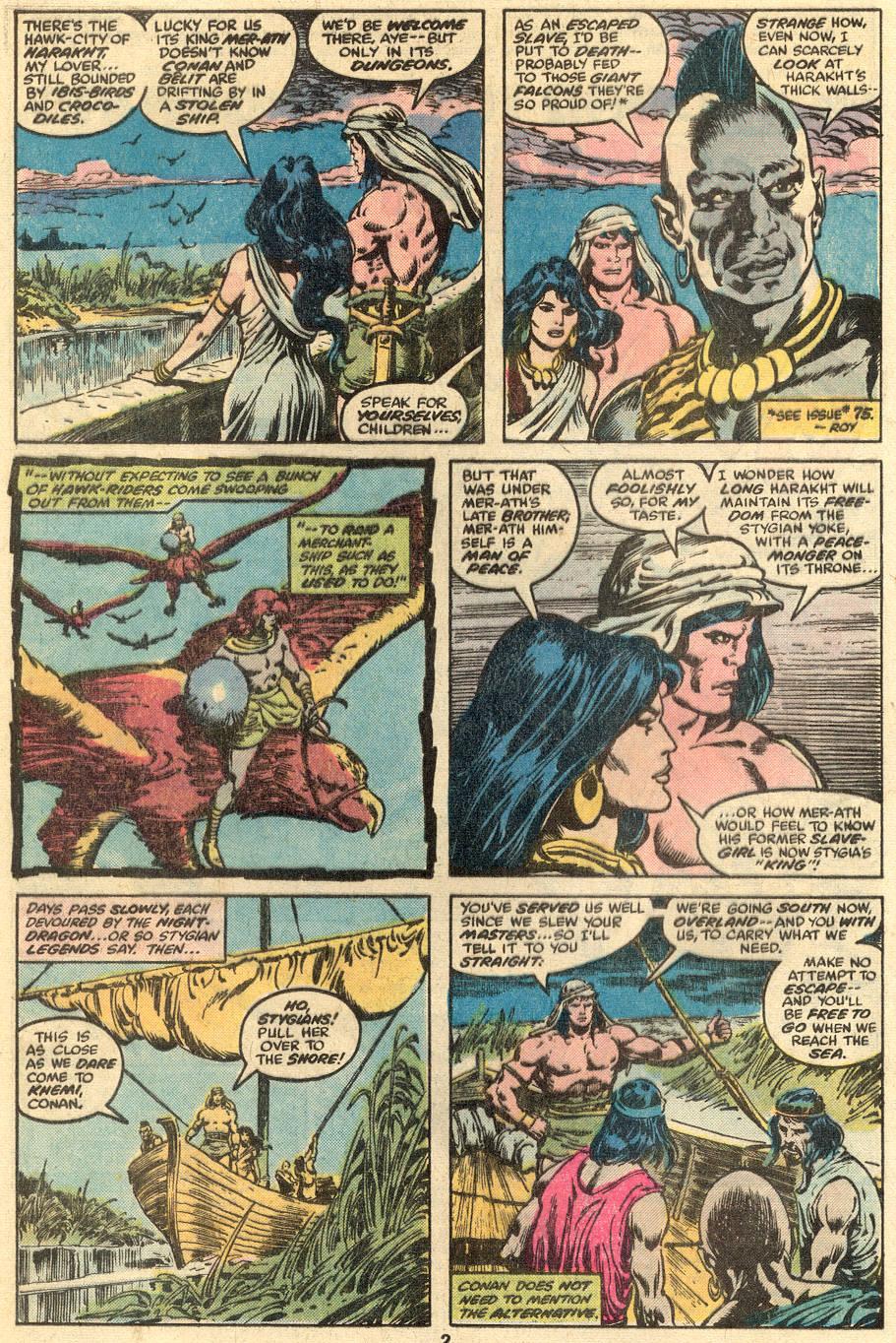 Conan the Barbarian (1970) Issue #90 #102 - English 3