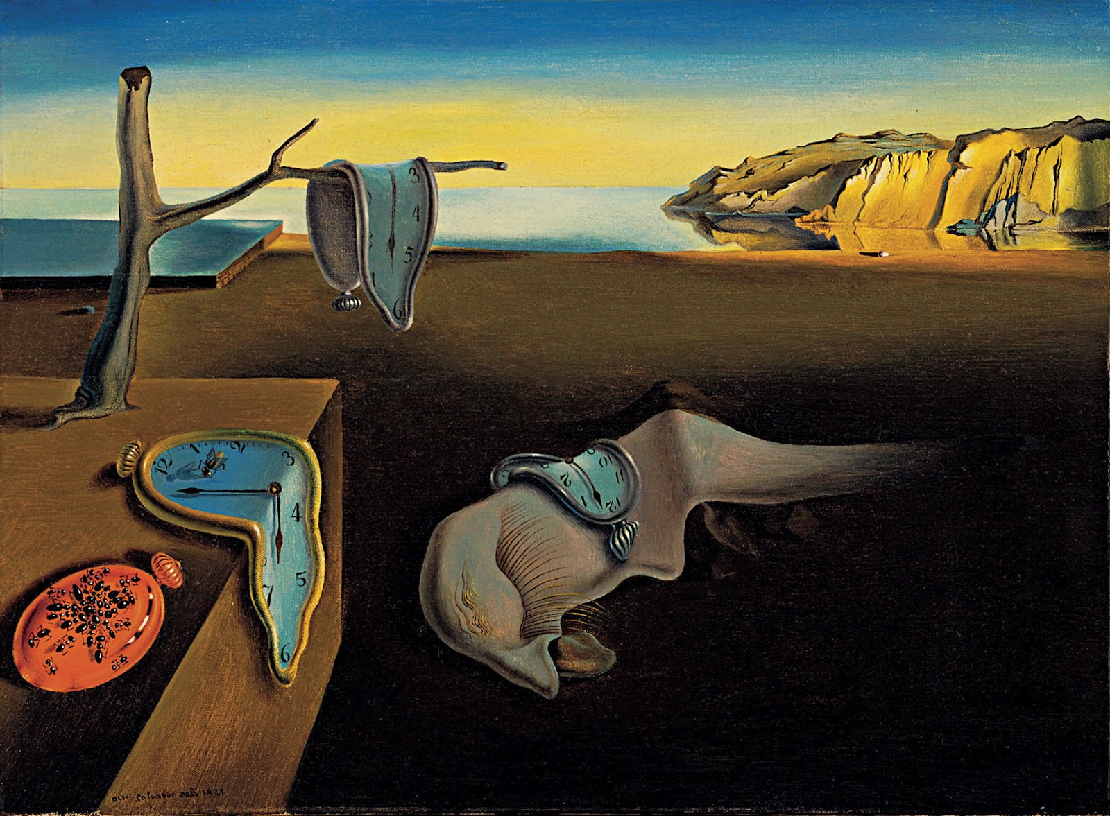 persistence of memory Salvador dali's the persistence of memory explained find out how the spanish  surrealist went from penniless painter to toast of the nyc.