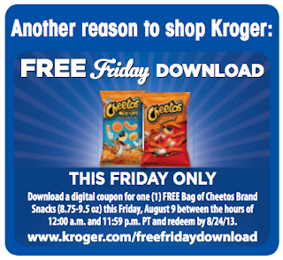 free friday download cheetos at kroger