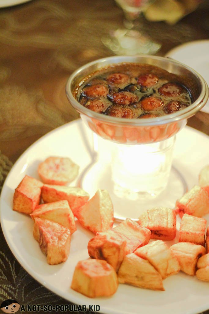 Kalti Dessert of Saramsam Restaurant