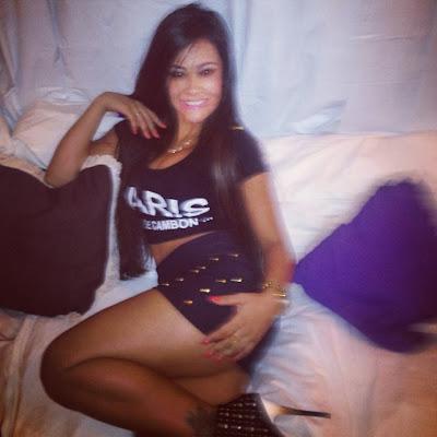 Fotos Tati Neves - A brasileira que dormiu com Justin Bieber