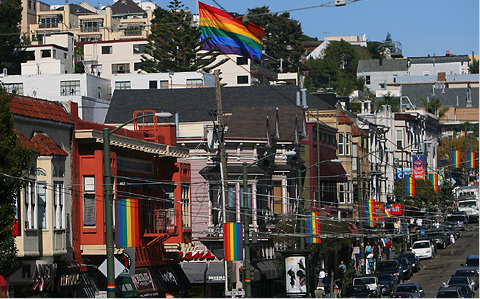 ... in San Francisco. Five people were shot in near the Gay Pride events.