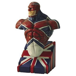 Captain Britain (Marvel Comics) Character Review - Bust Product