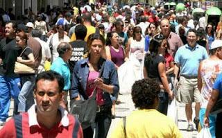 População do Brasil deve ser de 208 milhões de habitantes em 2030