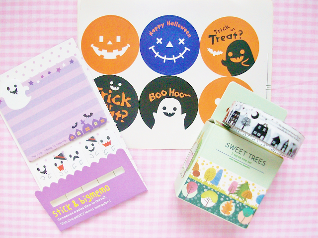 Tiny Bees Halloween Stationary Haul