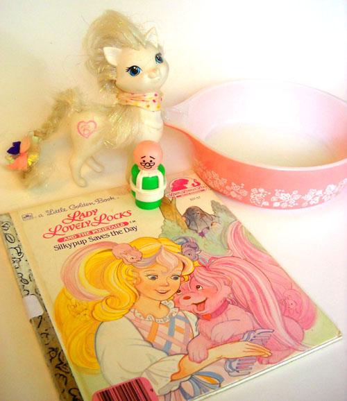 Manatee's Toy Box: Girly Pink + Mr. Hooper Girly Hooper