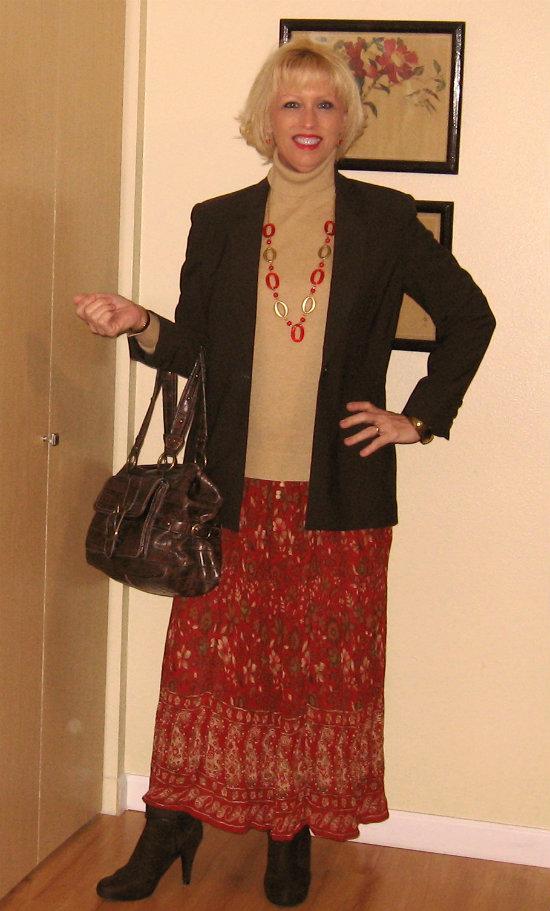 DreamznWishz Red Skirt Debut