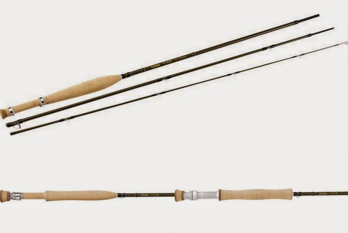 The fiberglass manifesto cabela 39 s cgr fly rods 40 off for Cabela s fishing rods