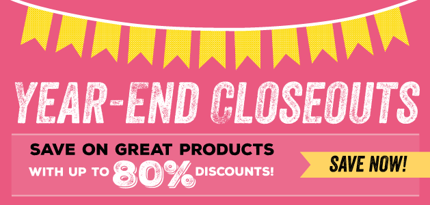 Stampin' Up Year End Closeouts