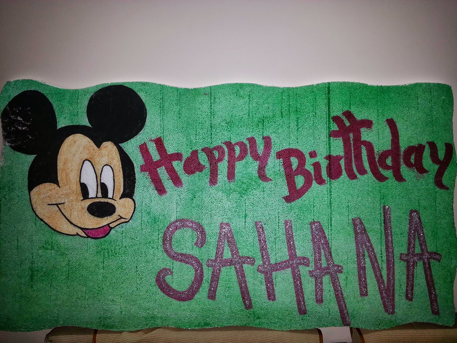 Sahana First Birthday