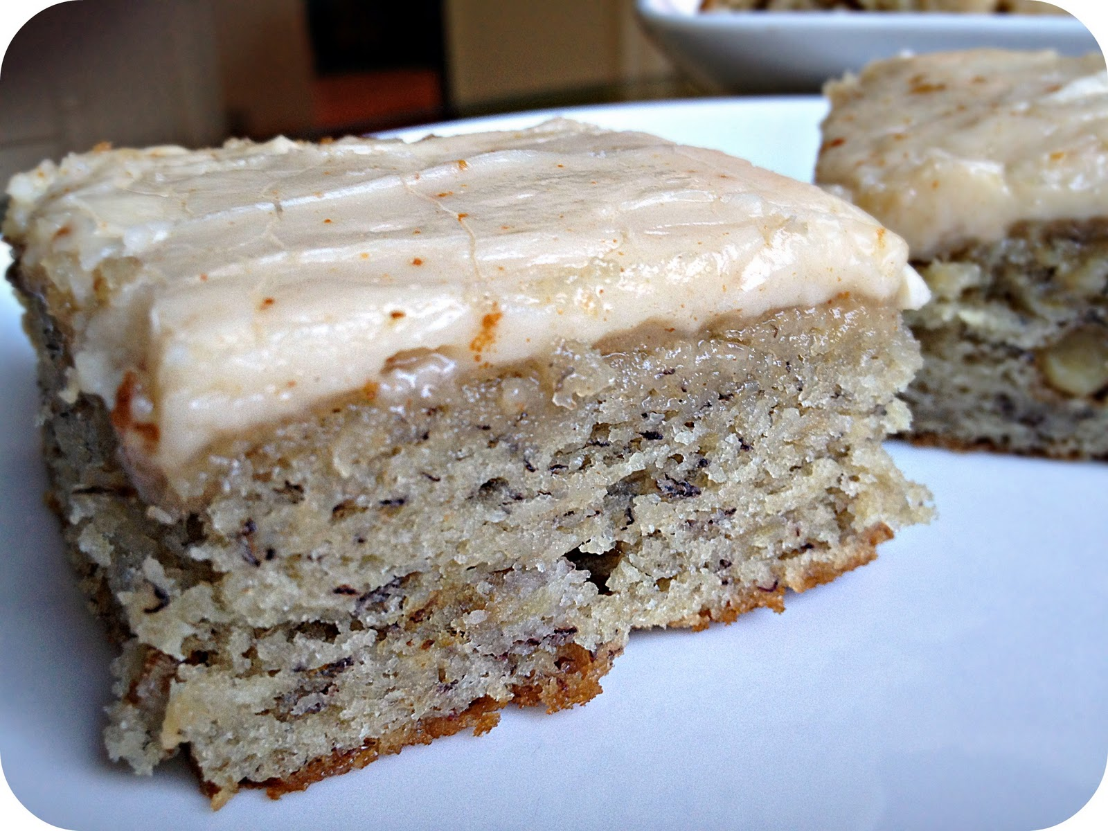 Banana Cake Sour Cream Icing