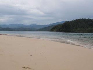 Pulau Cingkuak di Painan Sumatera Barat