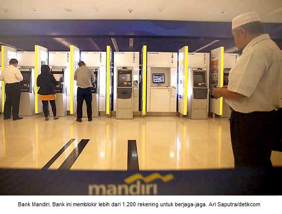 Pencurian data ATM dengan mesin skimmer