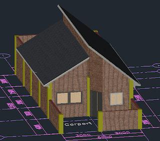 Merancang Rumah Dengan AutoCAD Architecture ( bag 5 )