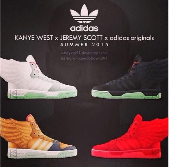 Adidas Kanye West Shoes